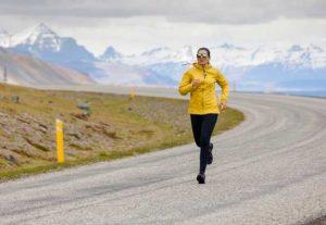 running during winter