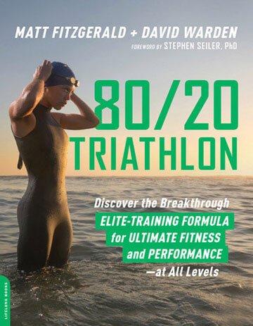 8020 Triathlon book by Matt Fitzgerald and David Warden