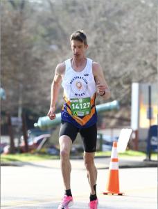 Matt Fitzgerald at the 2020 Atlanta Marathon