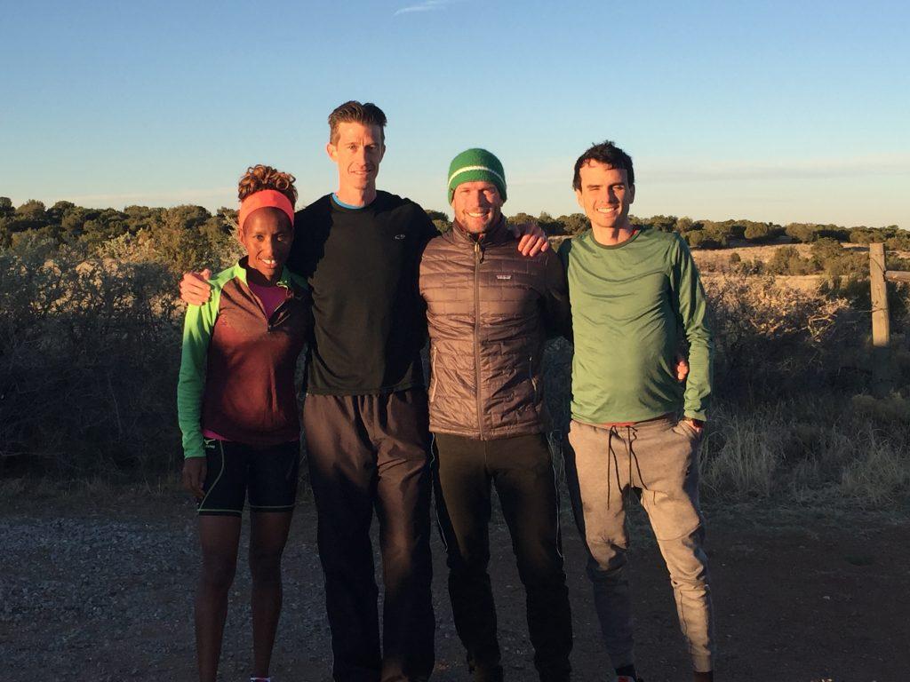 Caroline Rotich, Me, Ryan Bolton, Patrick Smyth