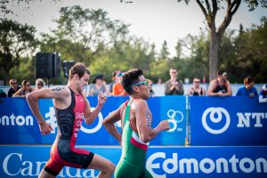Triathlon race workouts